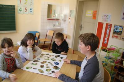 Foto zur Meldung: Die Klasse 9c besuchte die Havelschule-  von Saldern-Schüler gestalten Projekttage