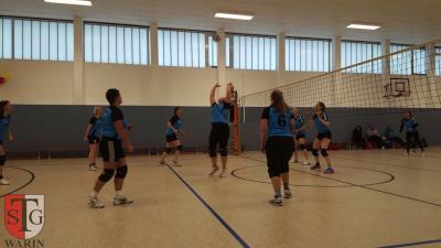 Foto zur Meldung: + + + 1. Spieltag Volleyball Landesklasse West Frauen + + +