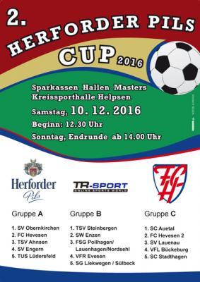Foto zur Meldung: 2. Herforder-Pils-Cup in der Kreissporthalle Helpsen