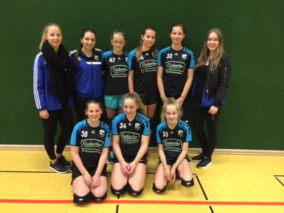 Foto zur Meldung: Neue Betreuerinnen für die Elsdorfer U16-Volleyball Mädchen