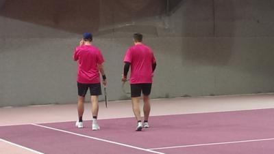 Foto zur Meldung: Tennis Herren 40 - Deutlicher Sieg von Salzstetten/Bildechingen gegen SPG Seewald-Tonbach