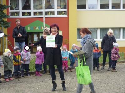 "Foto zur Meldung: Zertifizierung ""Haus der kleinen Forscher"" 2016 !!! Geschafft!!!"