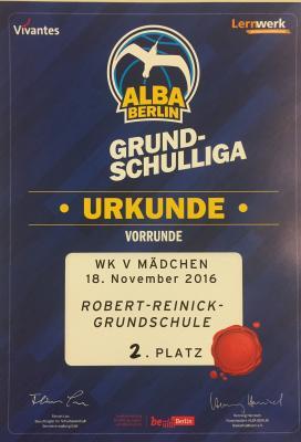 Foto zur Meldung: Alba Basketball Turnier