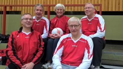 Foto zu Meldung: Faustballer erspielen 4. Platz beim Langelsheimer Turnier