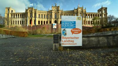 Maximilianeum München - Hompage des Bayerischen Landtags - www.bayern.landtag.de