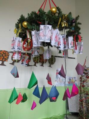 """Foto zur Meldung: Projekttag """"Weihnachten"""" der Klassen 1c und 2c"""