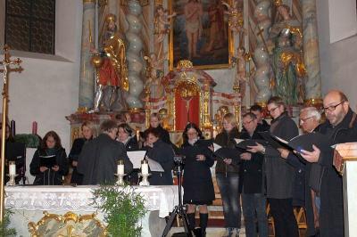 Foto zur Meldung: 17. Adventsingen in Moosbach
