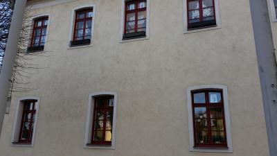 Foto zur Meldung: Rathausfenster - neuer Adventskalender
