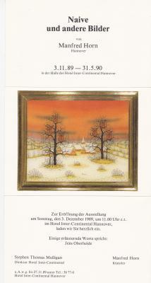 Vorschaubild zur Meldung: Ausstellung Hotel Interconti Hannover