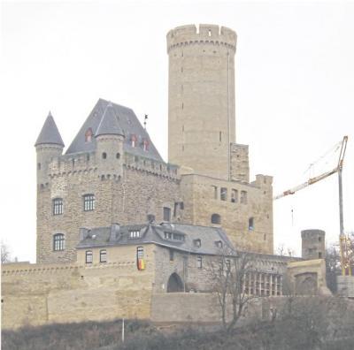 Foto zur Meldung: SPD- Ortsverein: Zeitpunkt für Eröffnung der Burg bleibt unklar