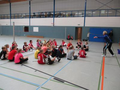 Foto zur Meldung: Volleyball FUN TAG in Elsdorf