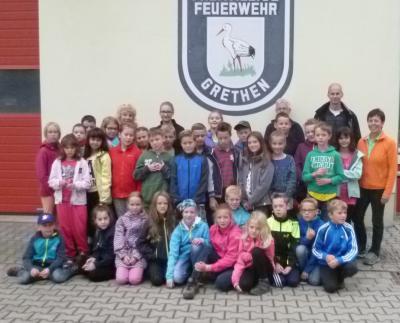 Foto zu Meldung: Klassenfahrt 4a & 4b nach Grethen