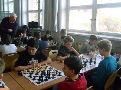 Foto zu Meldung: Kindermannschaft erfolgreich beim Schachturnier