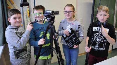 Foto zur Meldung: Kinderrechte im Filmprojekt Klasse 5