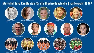 Foto zu Meldung: Niedersächsische Sportlerwahl 2016