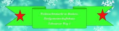 Foto zu Meldung: Weihnachtsmarkt in Roskow 10.12.2016
