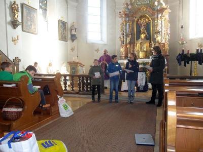 Foto zur Meldung: Familiengottesdienst zum 2. Advent stand unter dem Proheten Jesaja