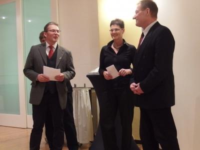 Foto zur Meldung: Verabschiedung vom langjährigen Chorleiter Klaus-Dieter Penzel des Frauenchors und MGV Schenklengsfeld