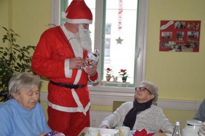 Vorschaubild zur Meldung: Weihnachtsfeier in der AWO Tagespflege in Perleberg