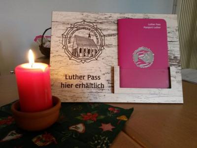 Foto zu Meldung: Der Luther Pass - kostenfrei erhältlich im Kulturquartier Mönchenkloster und der Bürgerinformation im Rathaus
