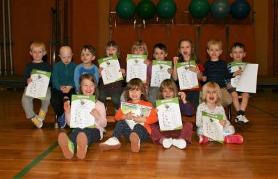 Foto zu Meldung: Flizzy-Kindersportgruppe schafft viele Sportabzeichen