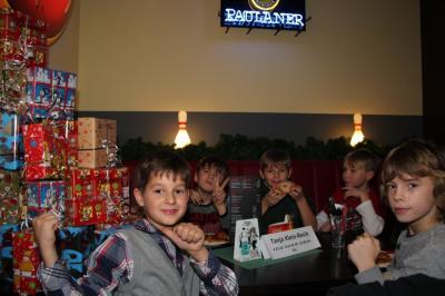 Foto zur Meldung: Weihnachtsfeier Knaben C/B