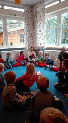 Foto zur Meldung: Vorlesen in Kindertagesstätten