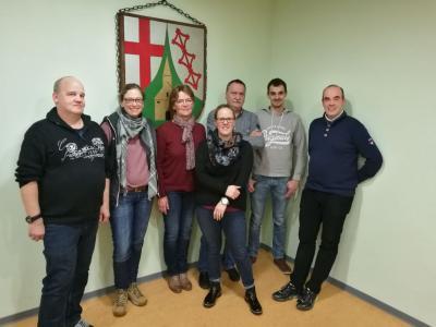 Der neue Vorstand des Dorfverein Mermuth e.V.