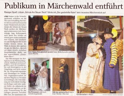 Artikel aus der Schweriner Volkszeitung