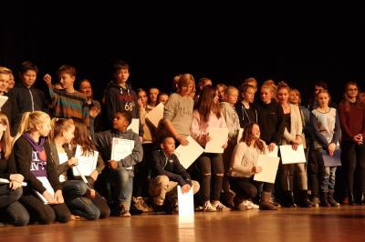 Foto zur Meldung: Start- und Verleihfeier des Internationalen Jugendprogramms