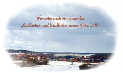 Foto zur Meldung: Neujahrsgrüße 2017