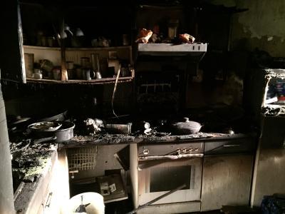 Vorschaubild zur Meldung: Einsatz 010/2017 - Wohnungsbrand
