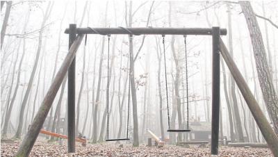 Fast schon mystisch schlummert der Märchenwald im Dornröschenschlaf. Im Frühjahr wird er wieder zum Leben erweckt. Foto: Uli Pohl