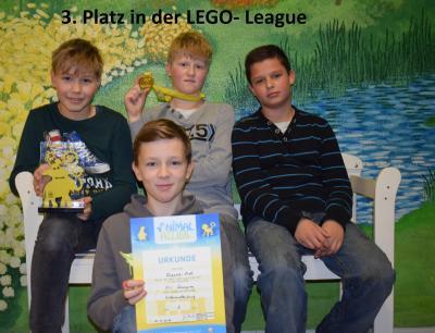 Foto zur Meldung: FLL-Wettbewerb
