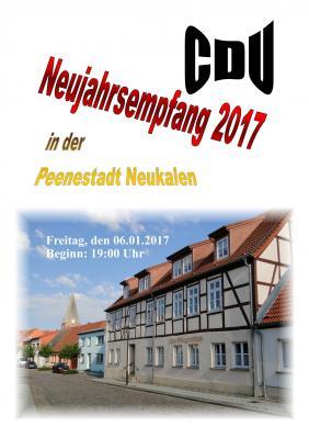 Foto zur Meldung: Neujahrsempfang der CDU 2017