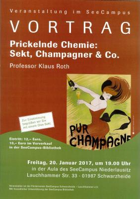 Vorschaubild zur Meldung: Vortrag über Sekt, Champagner & Co