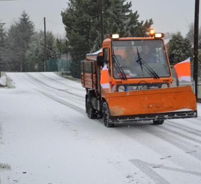 Vorschaubild zur Meldung: Gemeinde fährt volles Winterdienstprogramm