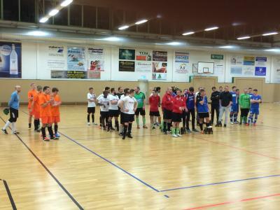 Foto zur Meldung: Hallenfußball - ESV Männer