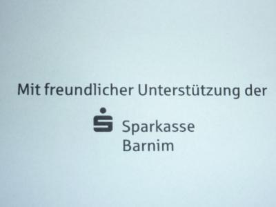Vorschaubild zur Meldung: Dankeschön an Sparkasse Barnim