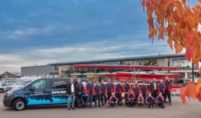 Vorschaubild zur Meldung: GRUMA Automobile GmbH sponsert Mercedes Benz Vito