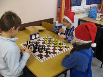 Vorschaubild zur Meldung: Kinder-/Jugendschach Weihnachtsfeier  am Sonntag  17. Dezember 2017