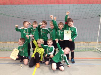Foto zur Meldung: F-Jugend-Spielgemeinschaft holt Bronze in Zittau