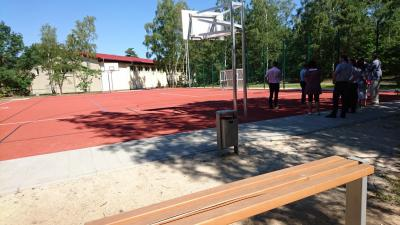 Sportaußenfläche der Berggrundschule