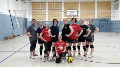 Foto zur Meldung: + + + 4. Spieltag Landesklasse West Volleyball Frauen + + +
