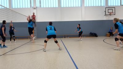 Foto zur Meldung: + + + 4. Spieltag Volleyball Landesklasse West Frauen + + +