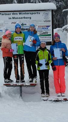 Foto zur Meldung: 1. Thüringer Langlauf Cup in Masserberg 14.1.2017