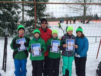 Foto zur Meldung: 2. Thüringer Langlauf Cup in Rotterode