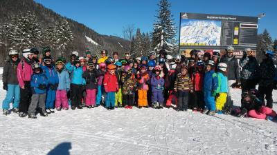 Vorschaubild zur Meldung: Skitag mit Studenten am Oberjoch