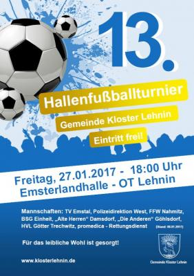 Foto zu Meldung: Gemeindefußballturnier 2017