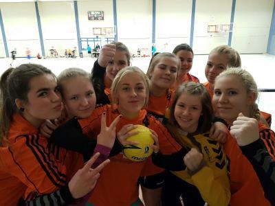 Foto zur Meldung: Handballregionalfinale der Mädchen